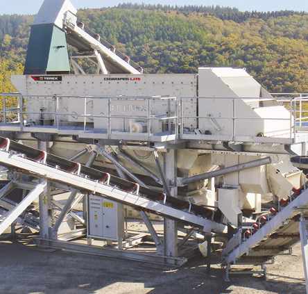 crushing and screening quarry equipment