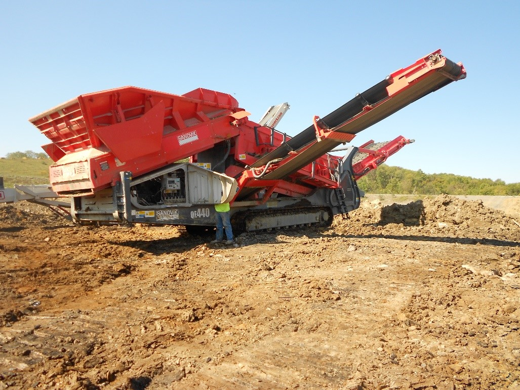 Maintenance of Crushing, Conveying, and Screening Equipment