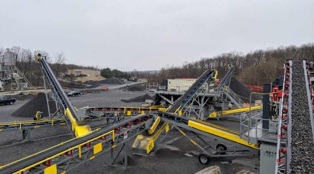 Kemper Equipment's solutions at work at PA aggregate producer's site