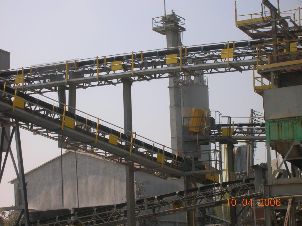 Material Handling Conveying Equipment - Conveyor Belt System Equipment