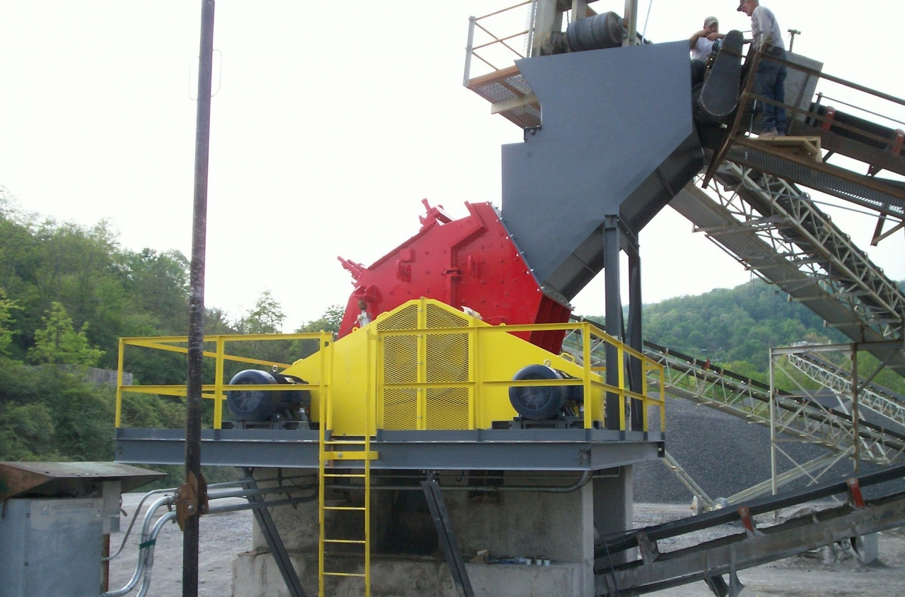 Material Handling Crushing Equipment - Jaw Crusher Industrial System