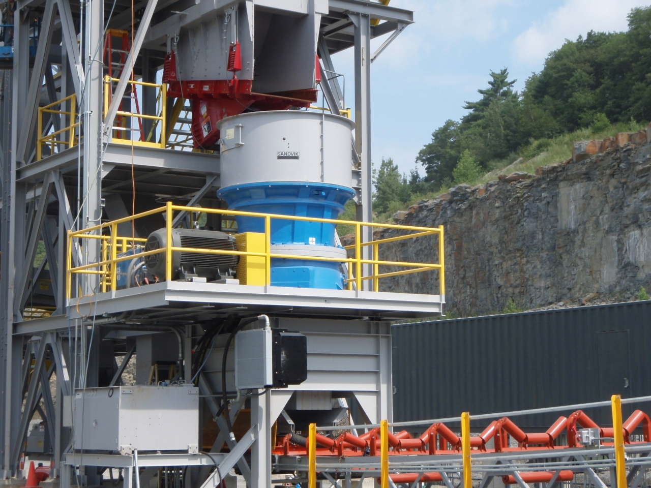 Material Handling Crushing Equipment - Sandvik Industrial Cone Crusher