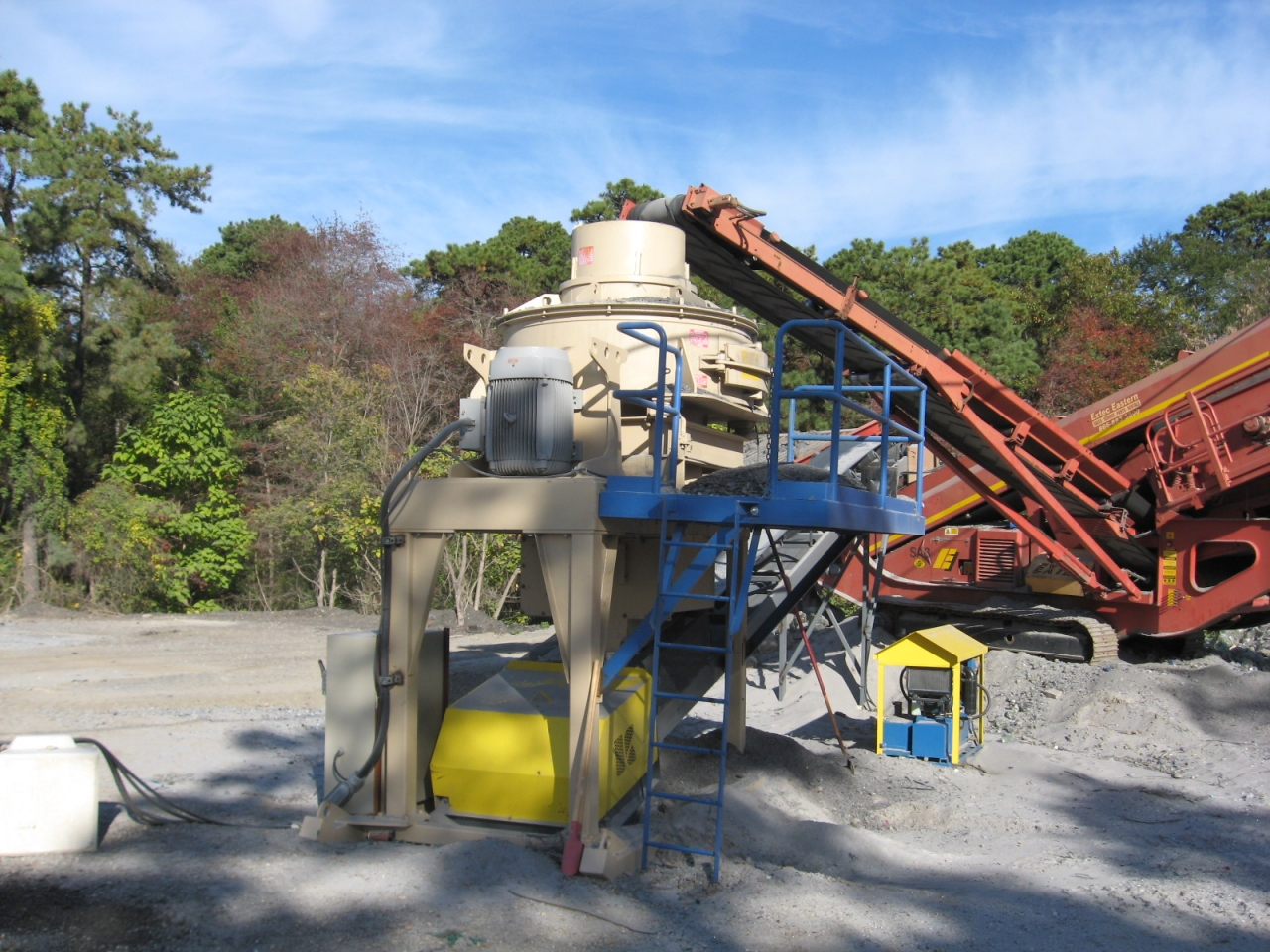 Used Material Handling Industrial Crushing Equipment
