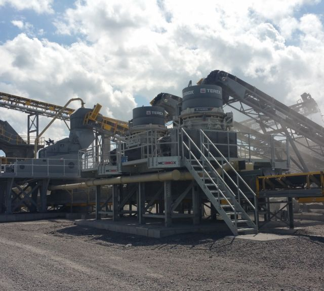 Crushing and Screening Station