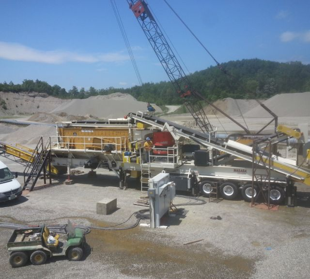 Portable Crushing and Screening