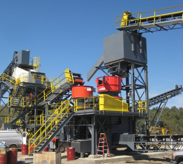 Material Handling Crushing Equipment - Sandvik Double Cone Crusher
