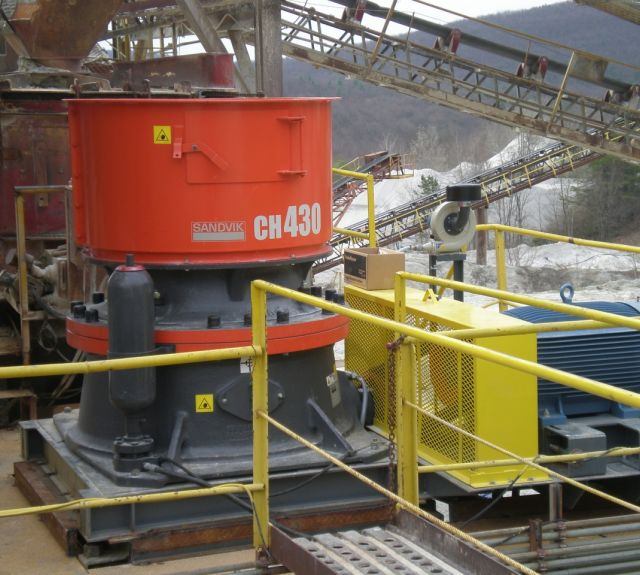 Material Handling Crushing Equipment - Sandvik CH 430 Cone Crusher