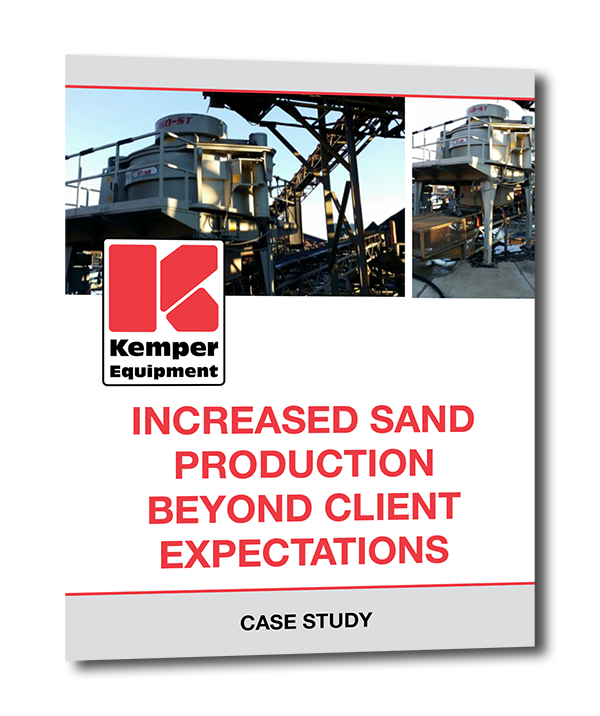 Increase sand production case study